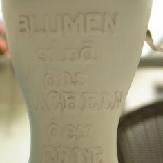 Simeas Welt: DIY mit Julia: Vasen mit Sprüchen