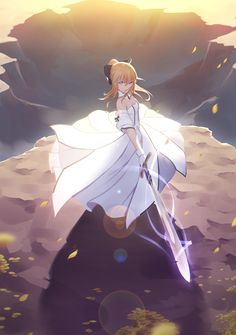Saber Lily - Fate/series