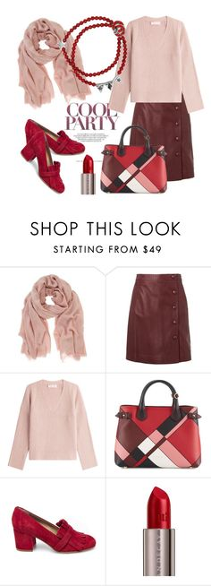 """cool party"" by ledile ❤ liked on Polyvore featuring Mint Velvet, Helmut Lang, Burberry, Steve Madden, Urban Decay, Russia and ledile"