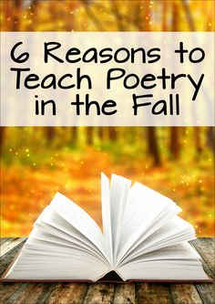 Why wait until spring to start teaching poetry? Laura Candler shares 6 reasons why fall is the best time to introduce your students to poetry! If you teach them how to read and write poetry early in the year, you'll reap the benefits all year long! Teaching Poetry, Teaching Language Arts, Teaching Reading, Teaching English, Writing Resources, Teaching Resources, Teaching Ideas, Persuasive Writing, Writing Rubrics