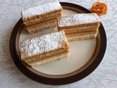 Könnyen nyújtható mézes krémes Vanilla Cake, Cheesecake, Food, Cheesecakes, Essen, Meals, Yemek, Cherry Cheesecake Shooters, Eten