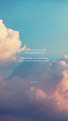 All of this is not a coincidence. bts citations, k pop, korea wallpaper Pop Lyrics, Bts Song Lyrics, Bts Lyrics Quotes, Bts Qoutes, Korean Song Lyrics, K Pop, Bts Wallpaper Lyrics, Wallpaper Quotes, Bts Citations