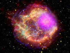 NASA's Cassiopeia A Supernova