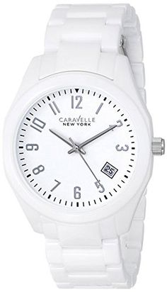 Caravelle New York by Bulova Womens 45M107 Ceramic Watch * Visit the image link more details.