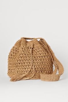 Macrame Bag, Dark Beige, Summer Bags, Green Bag, Knitted Bags, Different Fabrics, Fashion Company, Neue Trends, World Of Fashion