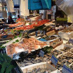 Dia de marche @poncelet chez daguerre .... A melhor peixaria de paris !!!!!