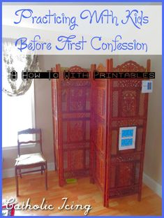 practicing first confession with kids- a guide with printables