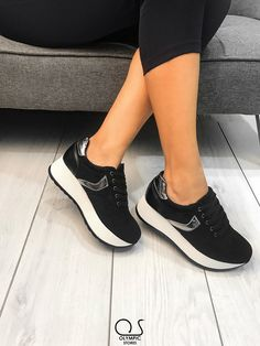 #FlatformSneakers 👉Κωδ:9879 👉29.99€ 🚛Δωρεάν έξοδα αποστολής 💲Δωρεάν η πρώτη αλλαγη  #ΟlympicStores #OSHOESgr #AutumnCollection #oshoesSUPEROFFER #GetEmAll #WOMANSTYLE #STYLESHOES #NEWSHOES #fashionweek #moda #autumn2018 Flatform Sneakers, Wedges, Shoes, Fashion, Moda, Shoe, Shoes Outlet, Fashion Styles, Wedge