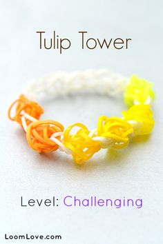 How to Make a Tulip Tower Bracelet