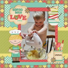 Baked With Love - Scrapbook.com