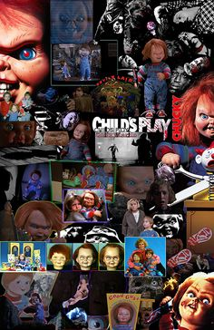 Chucky the Possesed Killer Doll. Horror Movie Characters, Horror Movie Posters, Horror Icons, Horror Films, Scary Movies, Good Movies, Suspense Movies, Childs Play Chucky, Horror House