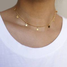 539a95040 2018 Simple gold Color love heart necklaces & pendants double Rhinestone  choker necklace women statement jewelry Bijoux x1