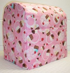 Check out this item in my Etsy shop https://www.etsy.com/listing/188182471/pink-cupcake-cover-for-45-or-5qt