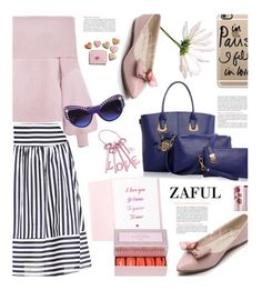 """Zaful.com: Valentine´s day!!!"" by hamaly ❤ liked on Polyvore featuring Versace, Casetify, women's clothing, women, female, woman, misses and juniors"