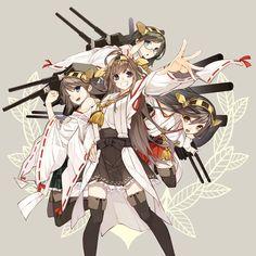 Kongou, Hiei, Haruna, and Kirishima