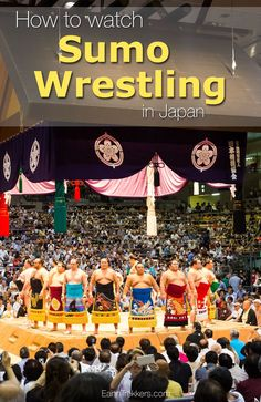 How to Watch Sumo Wrestling in Japan. How to buy tickets, when to go, where to sit, what to wear. Tips and tricks to get the best photos and have the best experience. Plus, we have explained the basic rules of sumo wrestling so you know what you are watching when you are there.