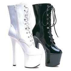 Women's 7 Inch Heel Ankle Boots With Inner Zipper