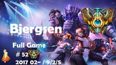 Challenger Full Game #52 Bjergsen