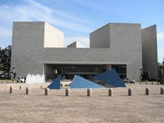 East Building, National Gallery of Art / I.M. Pei  via ArchDaily. Example of Late Modernism.