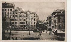"""Piazza De Ferrari - """""""" i grandi lavori del 1800"""