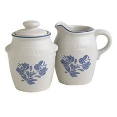 New Listing Pfaltzgraff Pottery cups and saucers in the Blue by ...