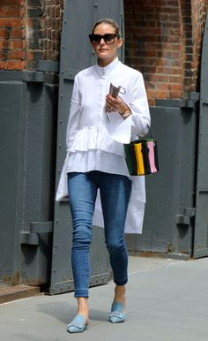 Olivia Palermo Outfit, Olivia Palermo Lookbook, Olivia Palermo Style, Mode Outfits, Chic Outfits, Summer Outfits, Fashion Outfits, Post Pregnancy Fashion, Vetement Fashion