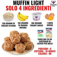 Conseils fitness en nutrition et en musculation. Sweets Recipes, Snack Recipes, Healthy Recipes, Snacks, B Food, Food Porn, Biscotti, Tips Fitness, Nutrition