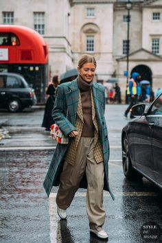London Fall 2020 Street Style: Emili Sindlev - STYLE DU MONDE   Street Style Street Fashion Photos Emili Sindlev