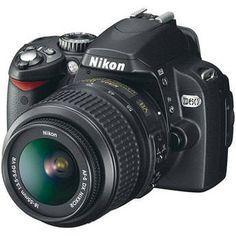 Nikon D60 SLR Digital Camera Kit with 18-55mm VR Lens