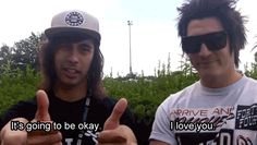 pierce the veil funny moments - Google Search