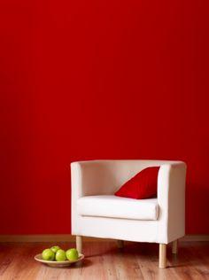 atrvete a pintar tus paredes en rojo