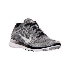 Nike Women's Free 5.0 TR Flyknit Training Shoes, Grey ($130) ❤ liked on Polyvore featuring shoes, athletic shoes, grey, flexible shoes, grey platform shoes, platform shoes, nike and nike shoes