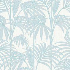Graham & Brown Julien Macdonald Honolulu Palm Tree Pattern Leaf Glitter Motif Designer Wallpaper 32-968