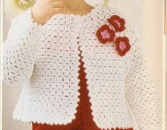 Como Tejer Suéter Para Niña a Crochet