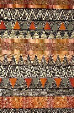 The African Fabric Shop : Kudhinda hand screen printed cotton fabrics from Zimbabwe