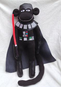 Darth Vader Sock Monkey