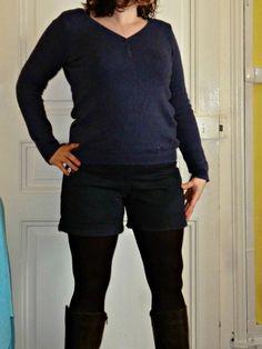 Short à pont Dressing Chic