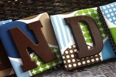 Cute Ideas For Making Wooden Letters For Baby Room With Rattan ~ http://lanewstalk.com/ideas-of-wooden-letters-design-for-baby-room/