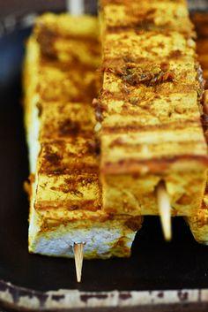 Malaysian Tofu Satay Skewers by {Susan Wolfe}, via Flickr