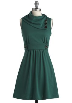 Coach Tour Dress in Jade | I like the idea, not the color
