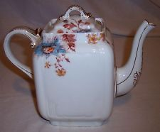 limoges teapot | Haviland Limoges porcelain teapot transfer flowers HP highlights ...