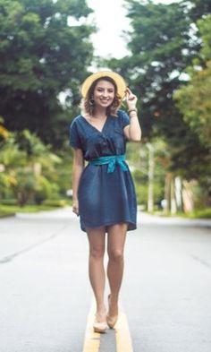 1 vestido, 2 looks | Truques de styling e como usar vestido jeans