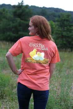 Southernology® Don't Count Your Chickens T Shirt | underthecarolinamoon.com