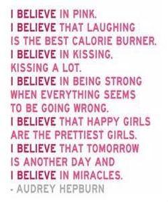 I believe - Audrey Hepburn.