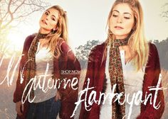 "Pour un automne flamboyant. #milkywaves #gipsy #mood #sunset #boheme #shopping ""milkywaves #trendy"