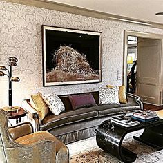 When you have a client this sophisticated at age 30, it's a partnership of design bliss!  Finished product greater than I could imagine! Driscoll Design & Decoration