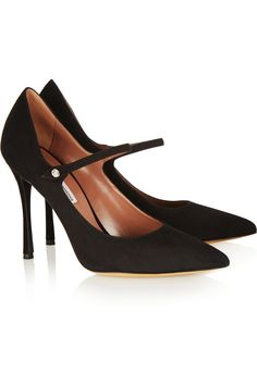 Tabitha Simmons | Lula suede Mary Jane pumps