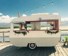 Little Vintage Bar & Van- Miss Fisher Mobile Bar