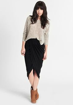Lamixx Intermix Skirt 48.00 at threadsence.com black skirts fall clothing models ford