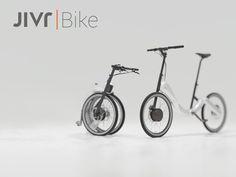 今回、ご紹介するJIVR | Bikeは、beacon機能などの最新テクノロジーを集結して開発された、世界初のチェーンのない、洗練された美しいデザインを実現した、折りたたみ式電動自転車です。